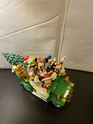 Disney Character Christmas Car by Bradford Exchange for Sale in Millbrae, CA