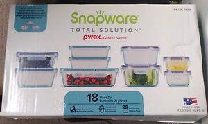Snapware 18 piece food storage set for Sale in Fairfax, VA