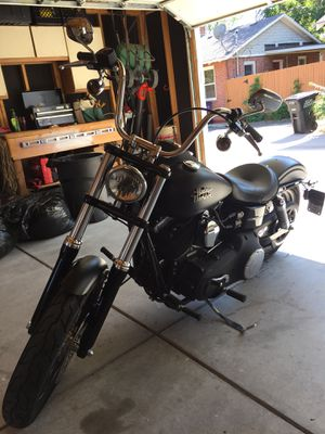 2014 Harley Davidson Dyna Street bob FXDB for Sale in Denver, CO
