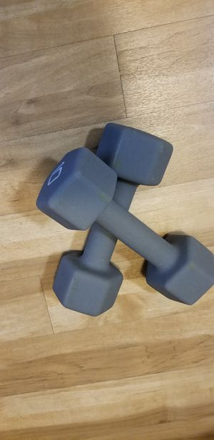 WORKOUT DUMBBELL WEIGHTS for Sale in Dallas, TX
