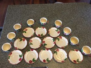 Antique China set Franciscan hand decorated for Sale in Escondido, CA