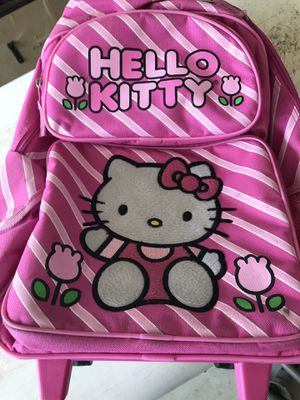Hello kitty wheeled back pack for Sale in Olympia, WA