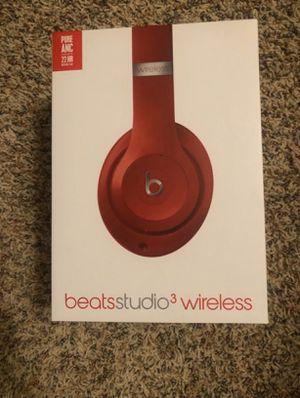 Beats Studio3 Red NEW in BOX for Sale in Fresno, CA