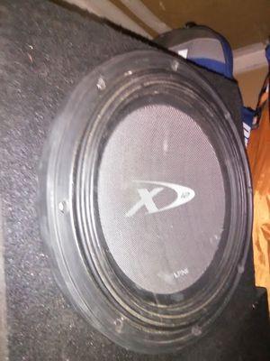 Alpine Type x plus ported box for Sale in Sacramento, CA