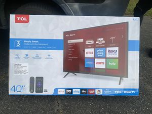 "TCL 40"" SMART TV for Sale in Manassas, VA"