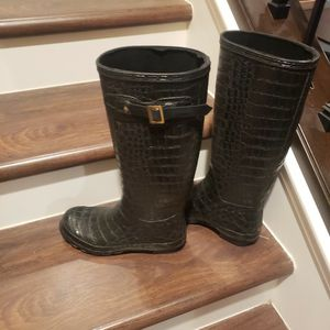 Rain Boots Size 8 Womens Used Gently for Sale in Garden Grove, CA