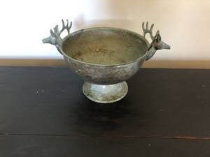 Antique Deer head bowl for Sale in Buffalo, NY