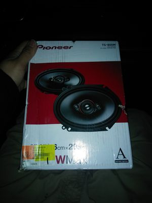 Pioneer TS-800M 350watts + Portable Bluetooth Audio Receiver for Sale in Fort Worth, TX