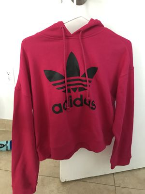 Pink adidas hoodie for Sale in Miami Beach, FL