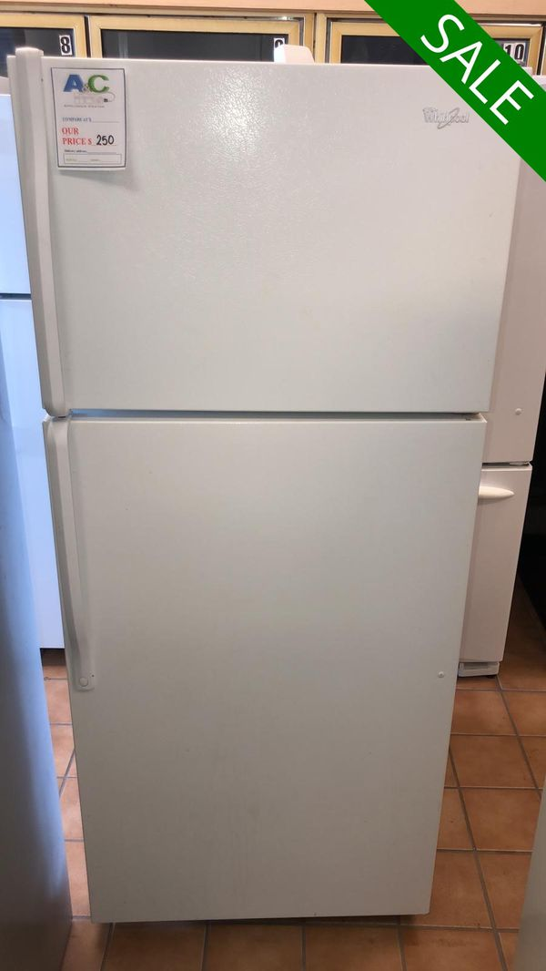 FREE DELIVERY!! Whirlpool CONTACT TODAY! Refrigerator Fridge With Warranty #1480