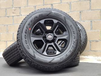 """17"""" Toyota Tacoma 4Runner Wheels Rims Rines and Tires Llantas for Sale in Fountain Valley,  CA"""