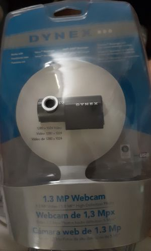 Dynex 1.3MP Webcam NEW for Sale in Marion, SC