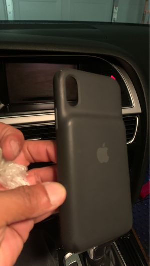 iPhone X Apple battery charging case (like new) for Sale in Fresno, CA