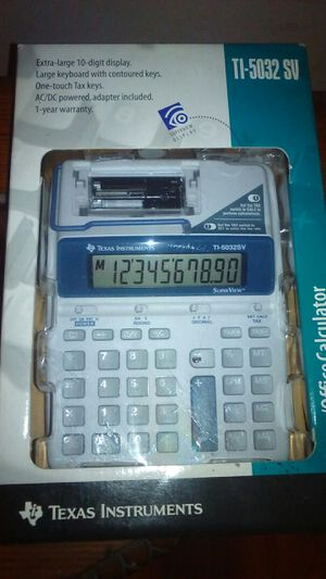 Brand new digital calculator for Sale in Auburndale, FL