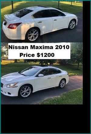 ֆ12OO_2010 Nissan Maxima S for Sale in Pasadena, CA