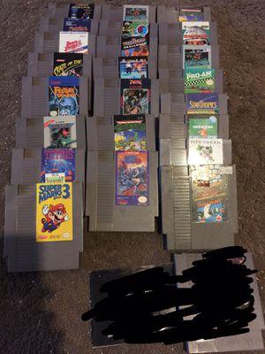 Huge Lot Of Original Nintendo Games $85 Cheap!!! for Sale in Fresno, CA