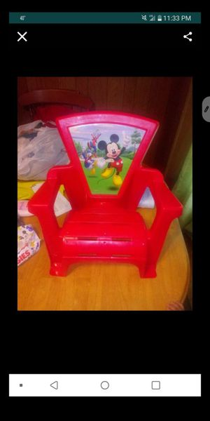 Mickey Mouse Chair for Sale in Waterbury, CT