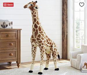 Pottery Barn kids Jumbo Giraffe Plush for Sale in Fairfax, VA