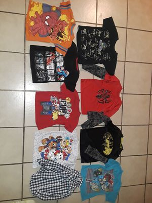 Kid boy clothes 4t 52pcs for Sale in Artesia, CA