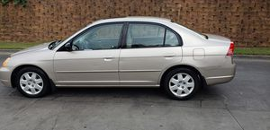 1 OWNER 2003 HONDA CIVIC EX GREAT STUDENT CAR ONLY 150K TRUE MILES (SUNROOF) $1900. for Sale in Peachtree Corners, GA