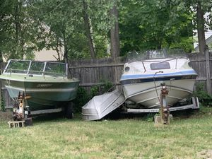 FREE BOAT!!!! Selling only Green BOAT! 2 other boats SOLD! for Sale in Holbrook, MA