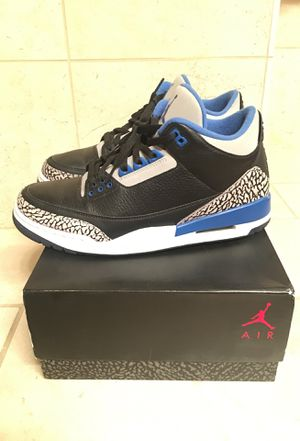 Jordan 3 Sport Sport Blue for Sale in Denver, CO