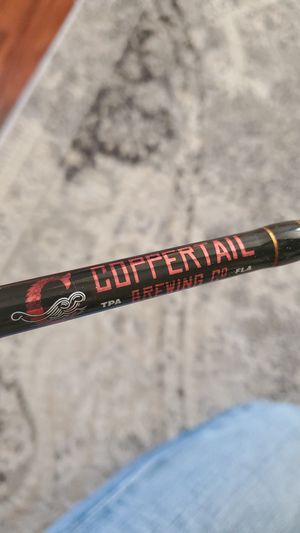 Coppertail Brewing Co. custom fishing rod for Sale in Tampa, FL