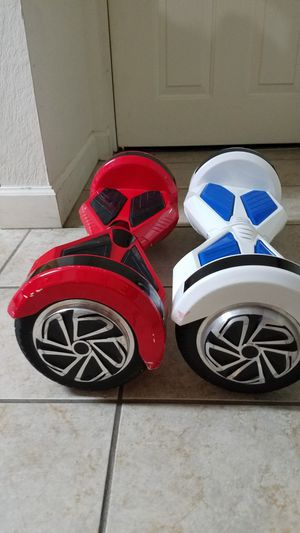 Red and black and white and blue hoverboard for Sale in Coral Gables, FL