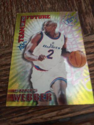 Chris webber rc insert for Sale in Wichita, KS