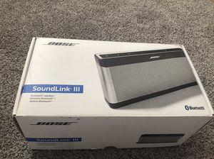 Like New Bose Bluetooth Speaker III generation 3 for Sale in Arcadia, CA