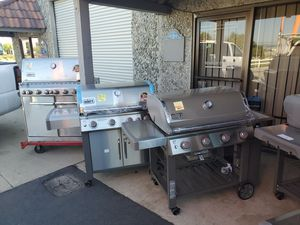 BBQ grill sale Saturday Weber for Sale in Redlands, CA