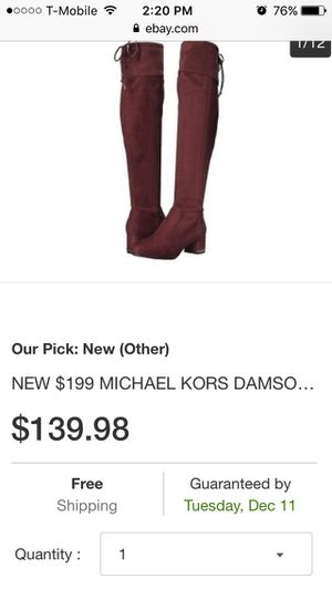 Michael Kors over knee boots for Sale in Austin, TX