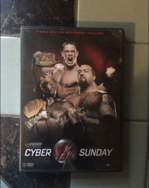 WW RAW Cyber Sunday 2006 dvd for Sale in Milnesville, PA