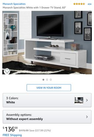 "60"" TV Stand for Sale in New York, NY"