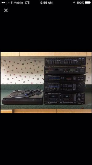Full kenwood stereo system for Sale in Edwardsville, IL