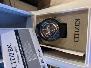 Citizen eco drive watch open box sport for Sale in Los Angeles, CA