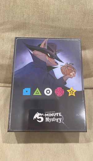 [BOARD GAMES] 5 Minute Mystery Mastermind Edition - COOPERATIVE game for Sale in Foothill Farms, CA