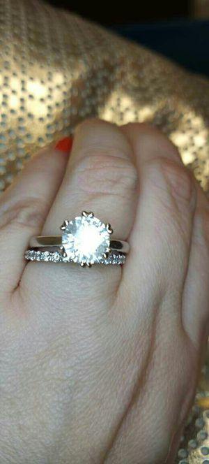 2.50 carat certified solitaire diamond engagement ring set for Sale in Atlanta, GA