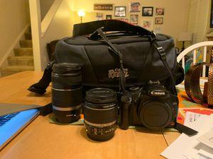 Canon Rebel XSi Camera & Lenses for Sale in Livermore, CA
