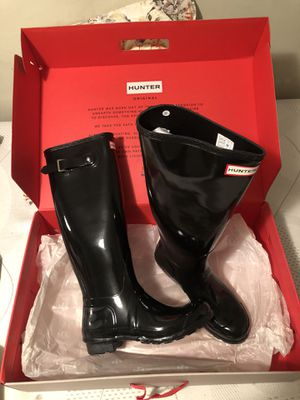 Hunter Women's Original Tall Rain Boots for Sale in MENTOR ON THE, OH