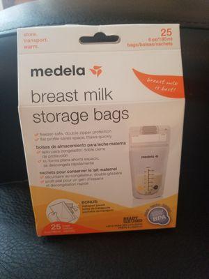 Breast milk storage bags for Sale in Davenport, IA