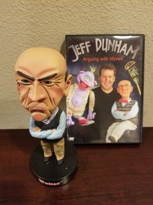 Walter talking bobblehead and Jeff Dunham DVD for Sale in San Jose, CA