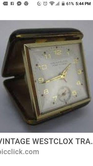 Antique Travel Clock for Sale in Lancaster, CA