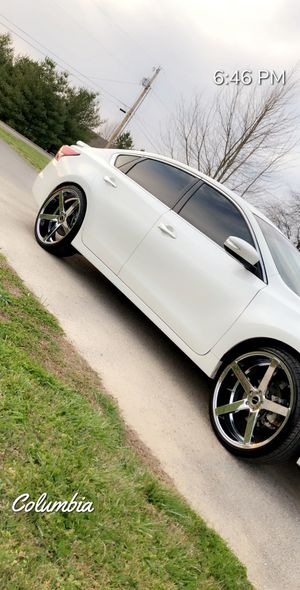 22 inch strada Prefetto chrome rims and tires. Less than 5,000 miles on wheels and tires. 114.5x5 lug pattern. Had on 2015 Nissan Altima. Looking to for Sale in Spring Hill, TN