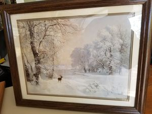 Winter picture for Sale in Hebron, CT