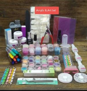 Brand new acrylic nail kit for Sale in Quincy, IL