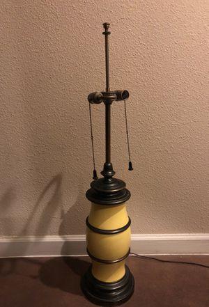 Antique Porcelain & Brass Lamp ( STIFFEL) for Sale in Austin, TX