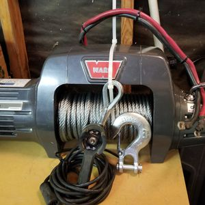 Warn winch with new cable $900 for Sale in Yucaipa, CA