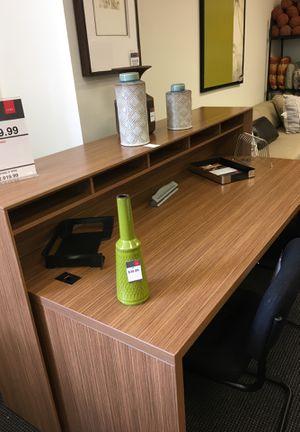NEW NEX Receptionist desk counter top and base for Sale in Warren, MI
