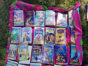 Disney VHS Tapes for Sale in Riverside, CA